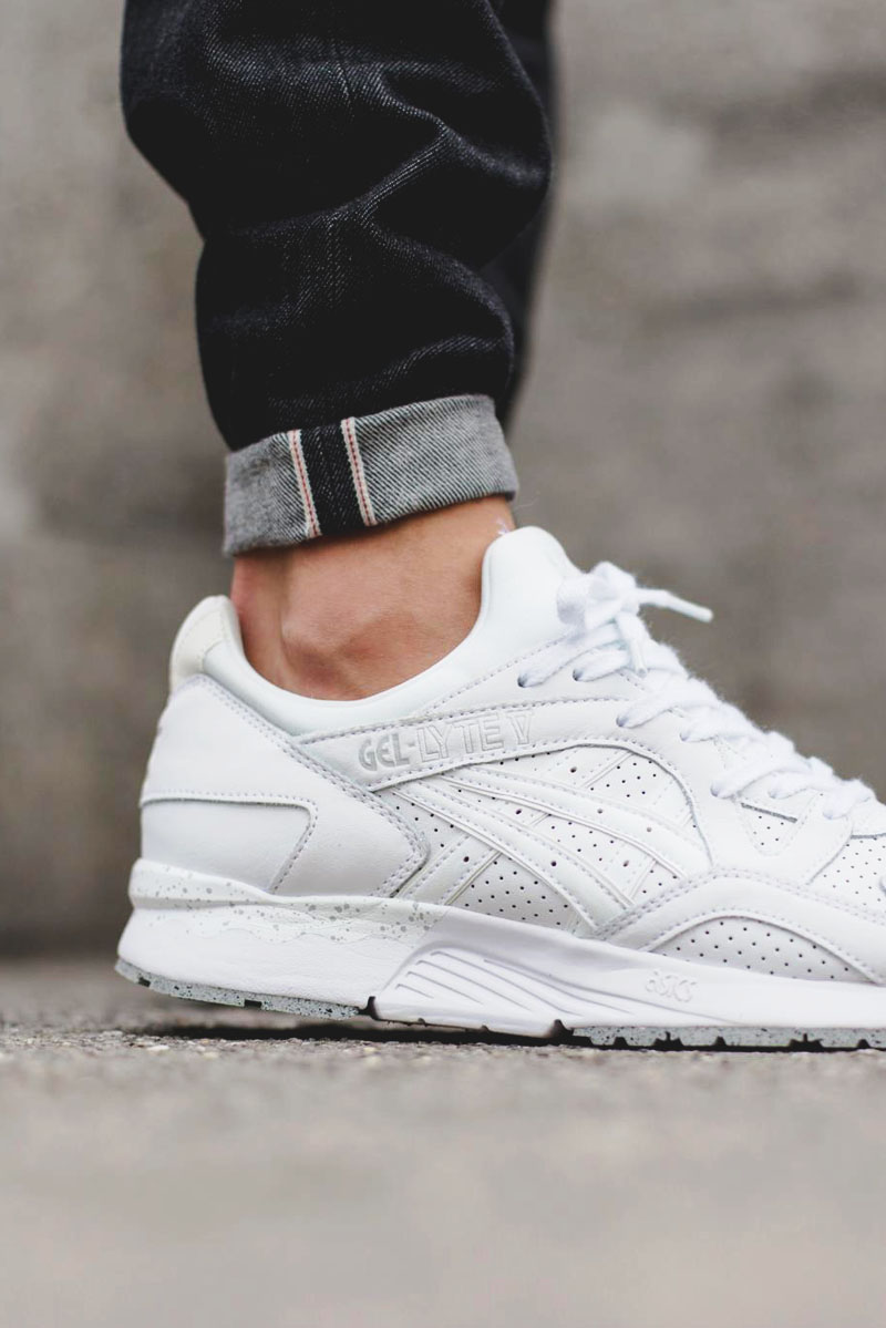 huge discount be282 527dd italy womens asics gel lyte 5 white fb56e 40d33