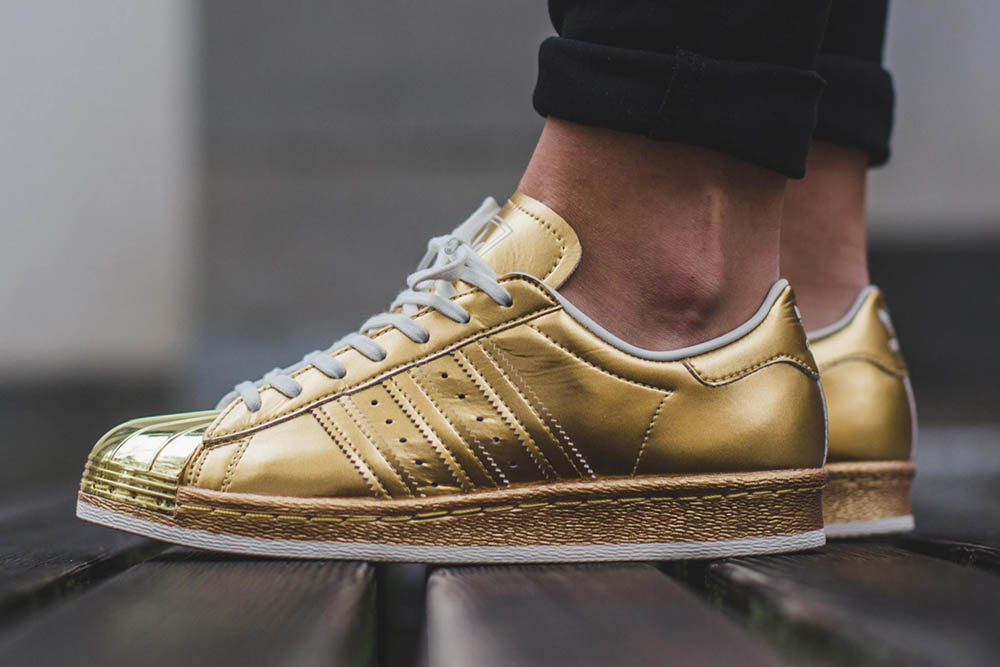 adidas originals superstar metallic gold edition