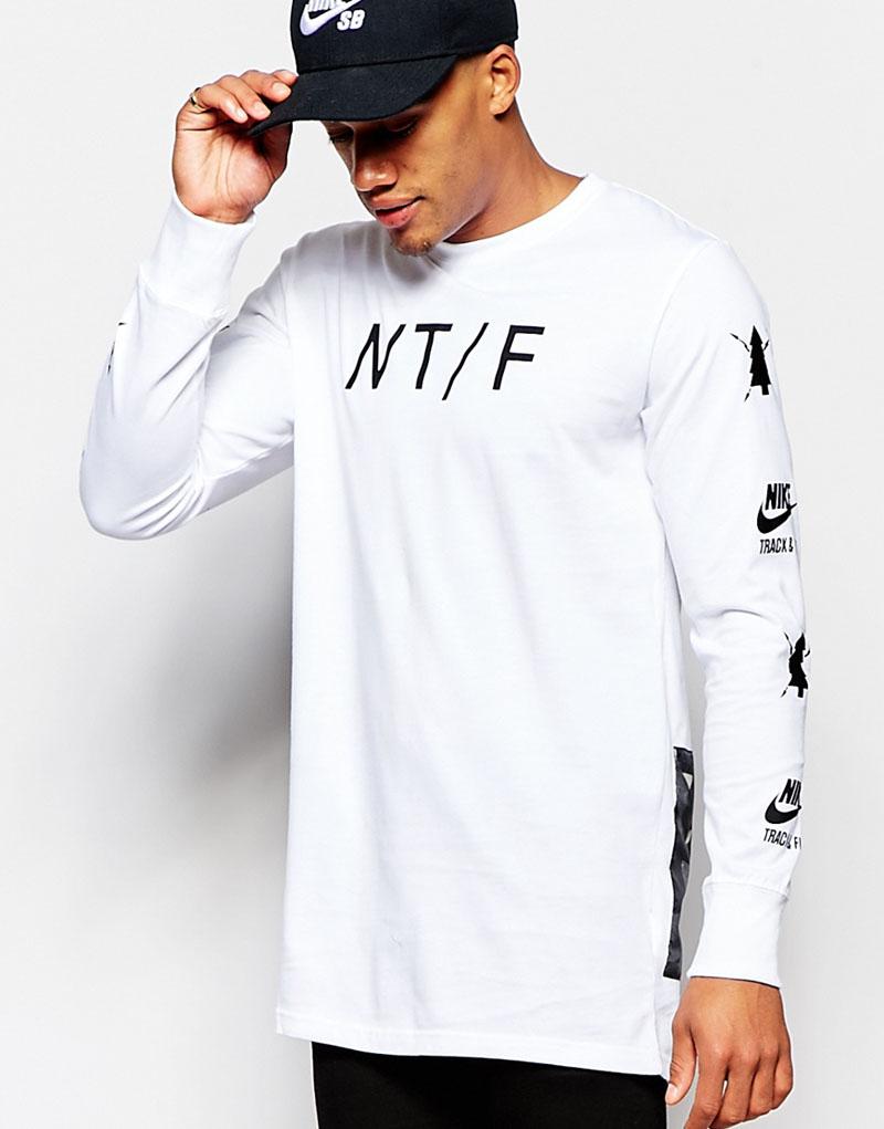 White longsleeve #nike