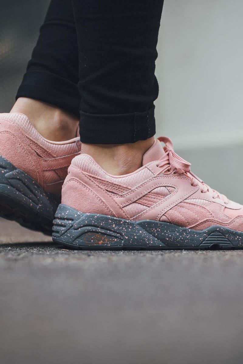 The PUMA R698 in a brand new colorway known as, 'Winterized Coral'.