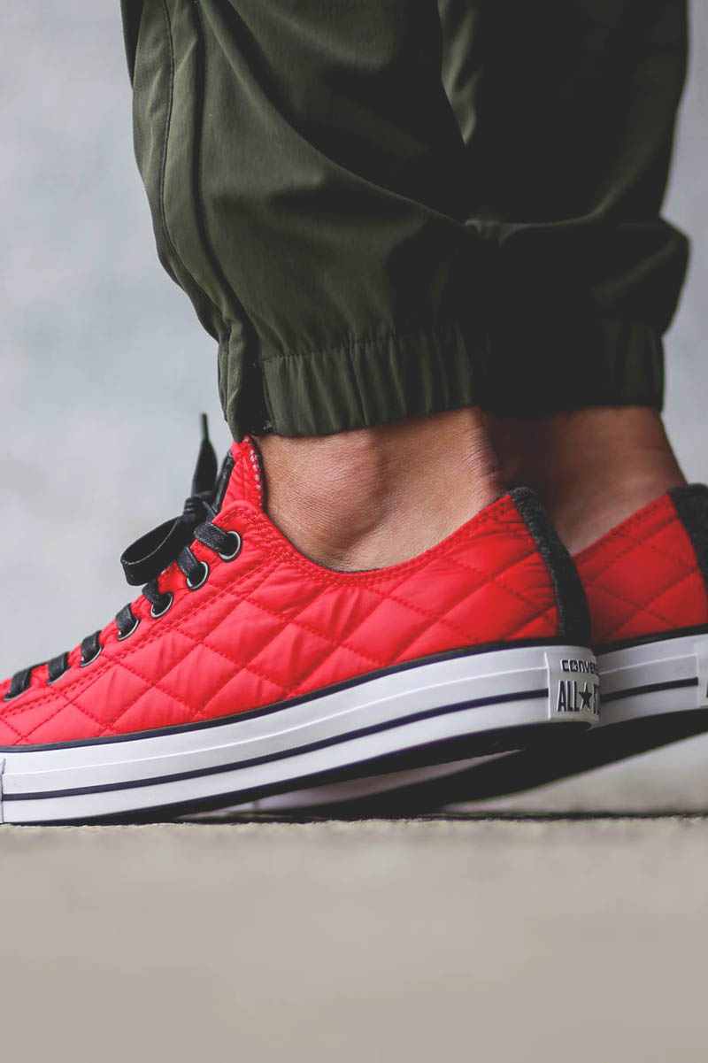Ox #converse #quilted #sneakers