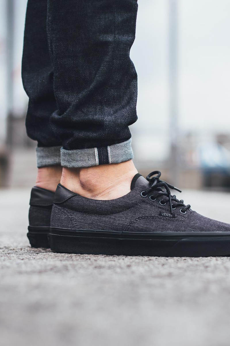 vans era 59 all black