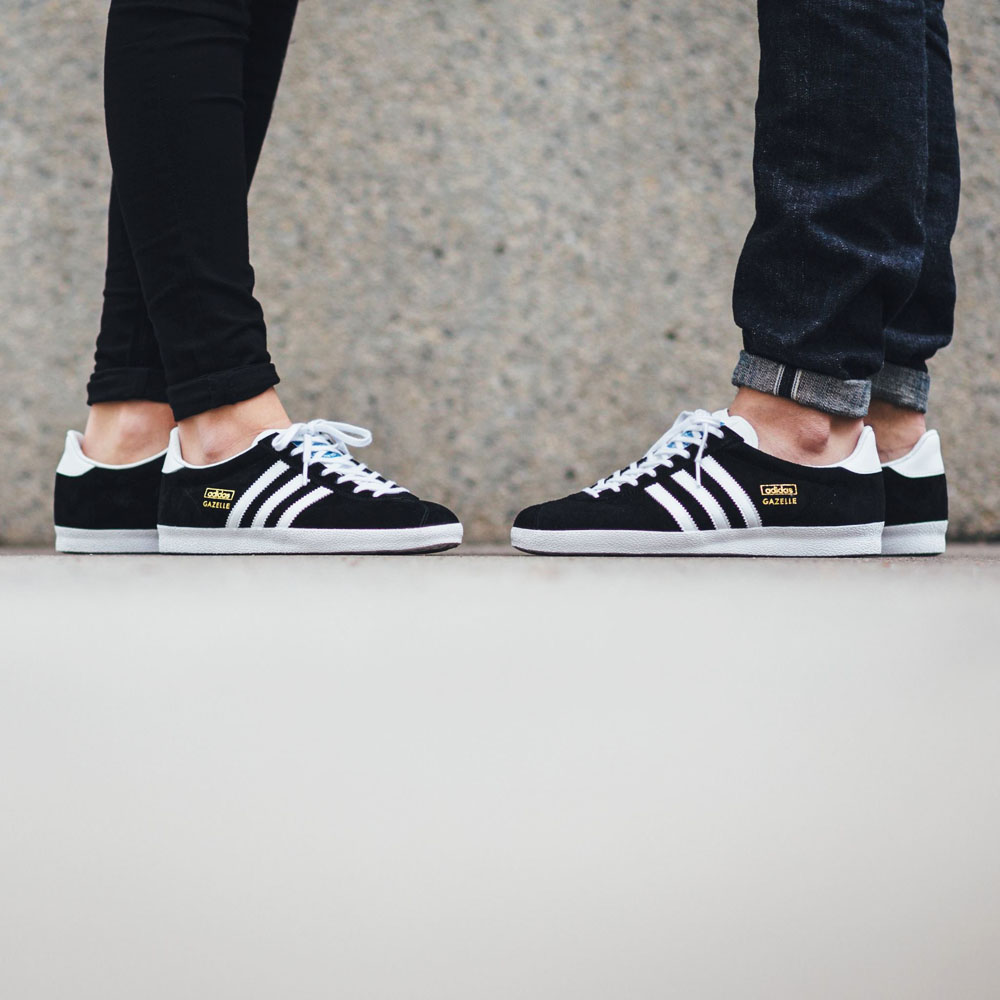 cheap for discount 54ef3 9d439 ADIDAS Gazelle OG Black Goldie sneakers adidasoriginals gazelle