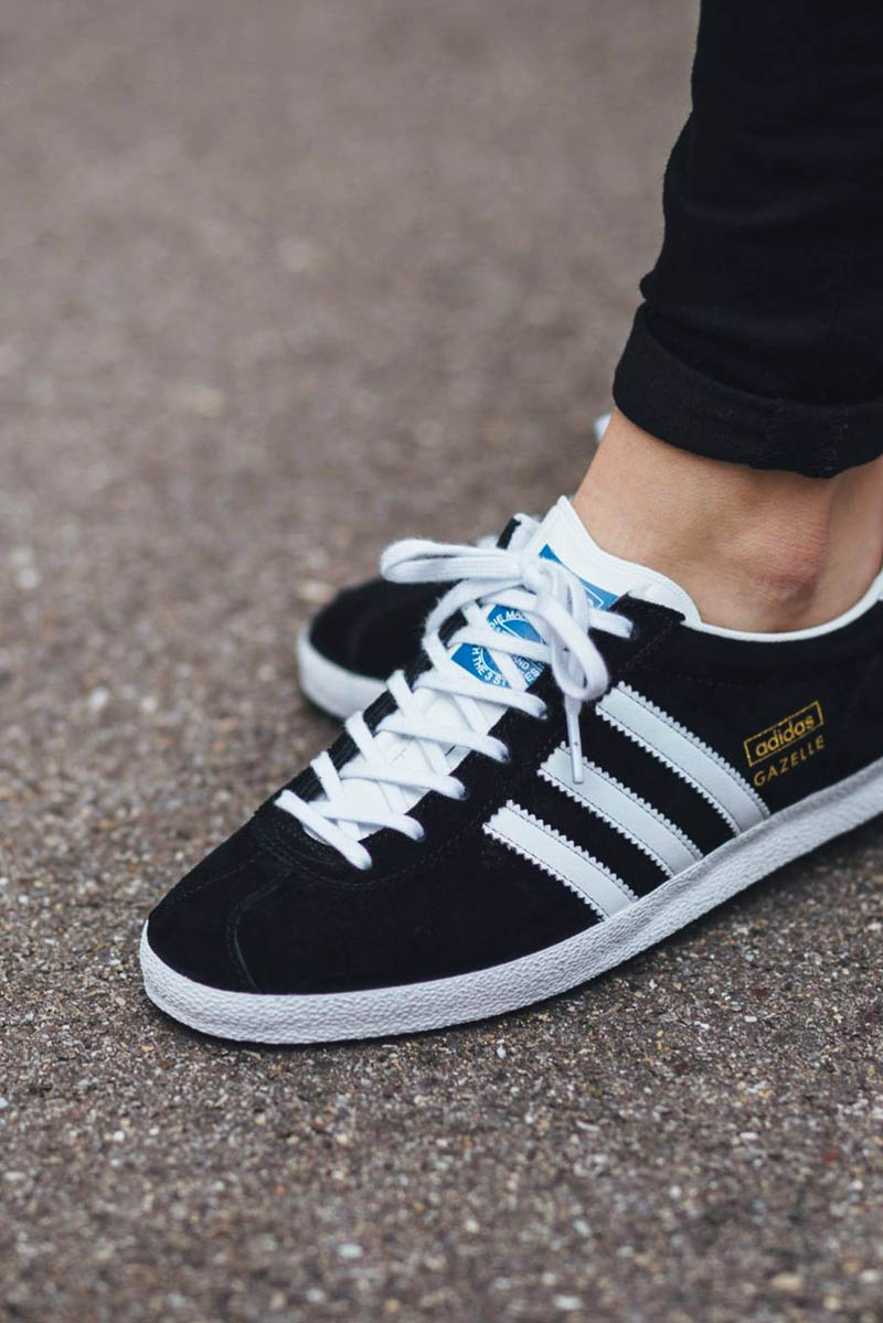 Adidas Originals Gazelle Og Black