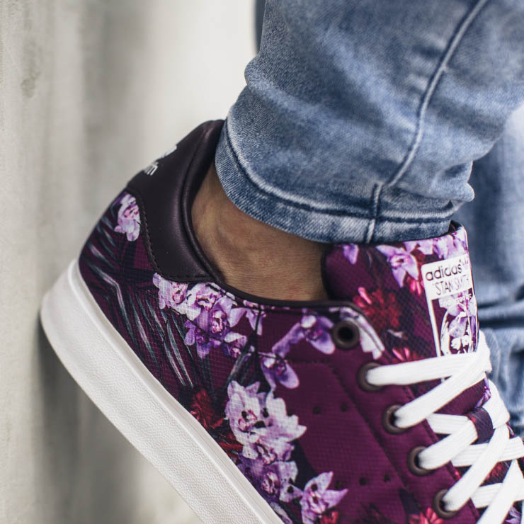 Adidas Stan Smith Flowers Sneakers