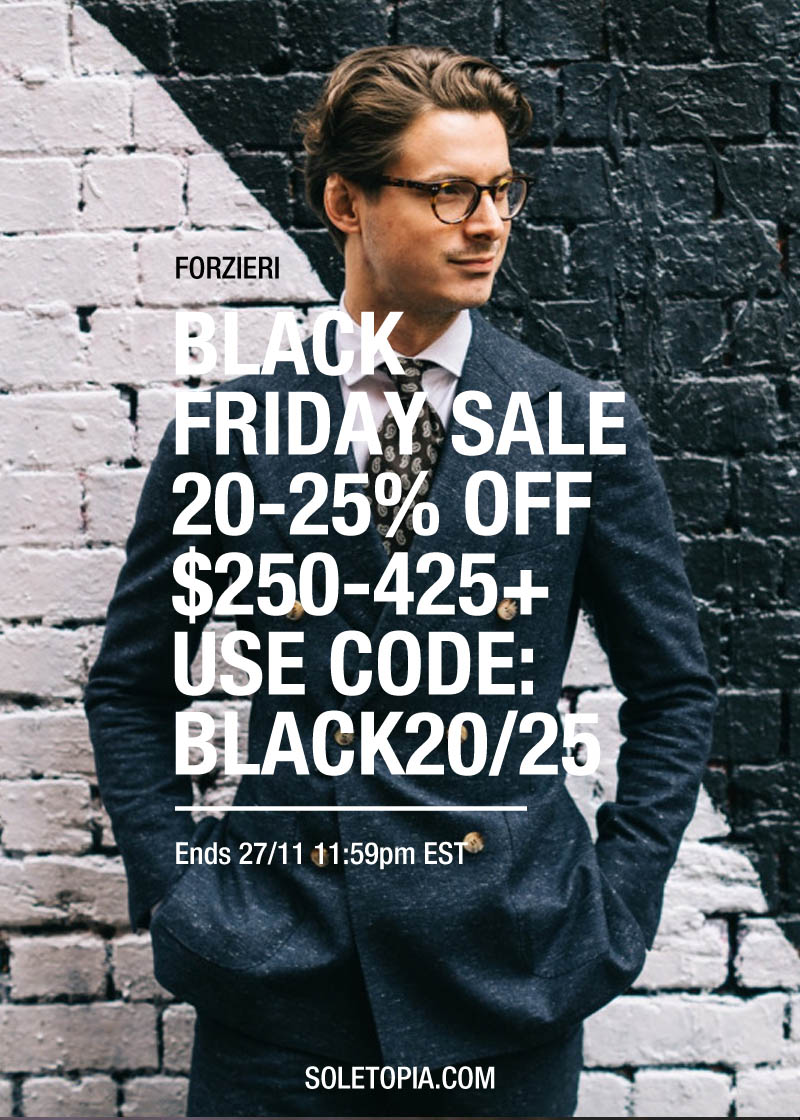 FORZIERI Black Friday #Sale #couponCode #menswear #womensfashion