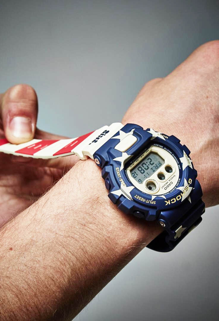 G-Shock × Alife 'Stars & Stripes' watch dropping 13.11.15 #gshock #watch #menswear