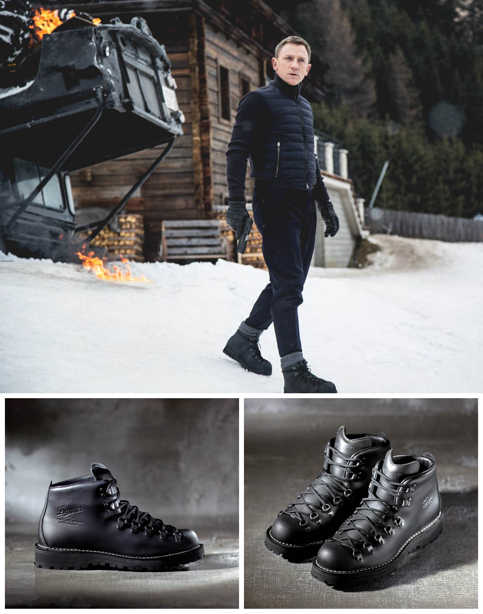 James Bond Boots for Specter by DANNER. #boots #specter #jamesbond #007 #menswear