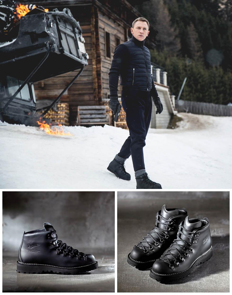 James Bond Boots for Specter by DANNER. #boots #specter #jamesbond #007 #menswear
