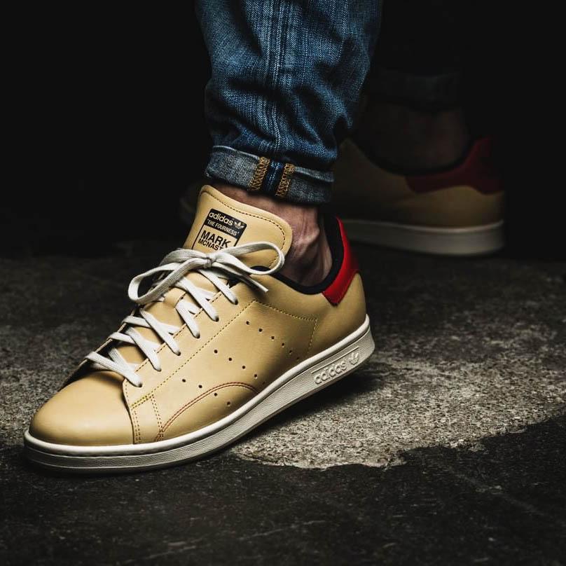 Three way collaboration on this #stanSmith #adidas #menswear