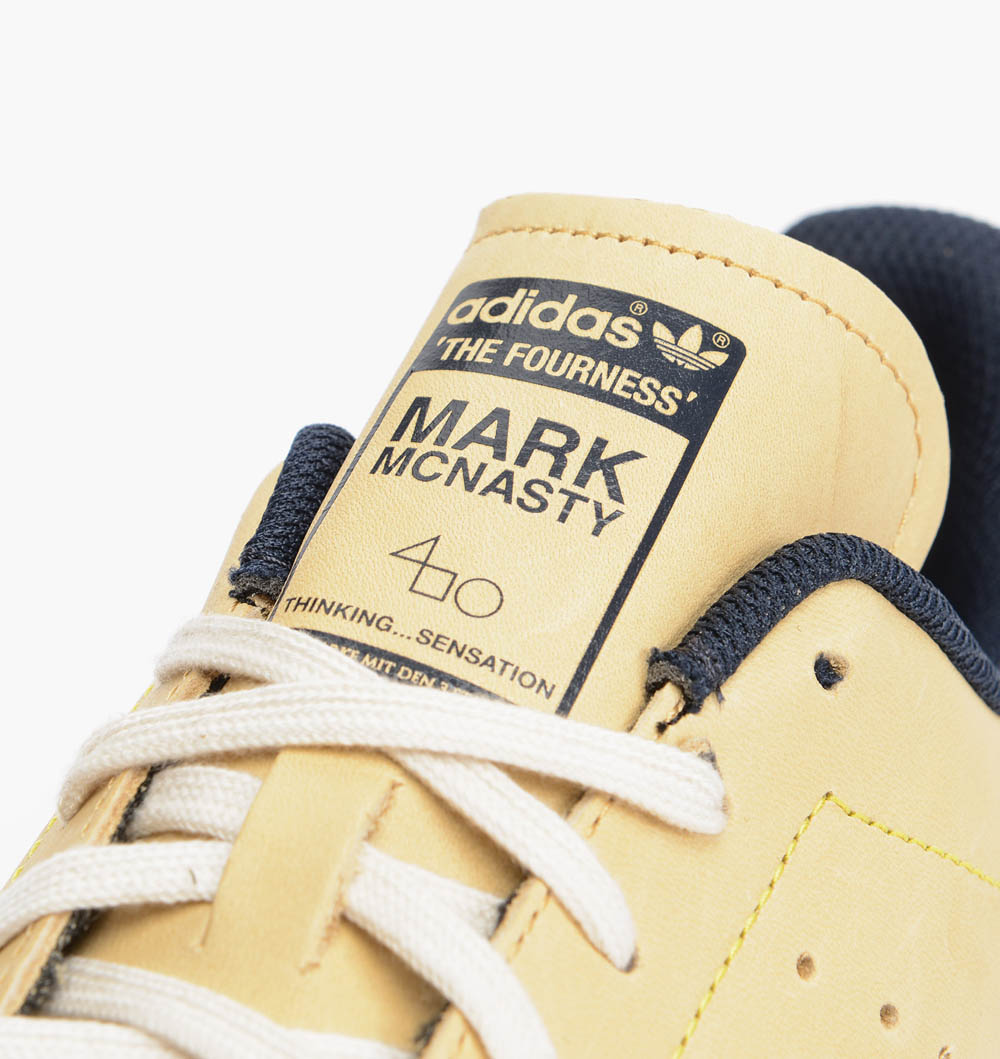 Three way collaboration on this #stanSmith #adidas #markmcnairy #thefourness #menswear