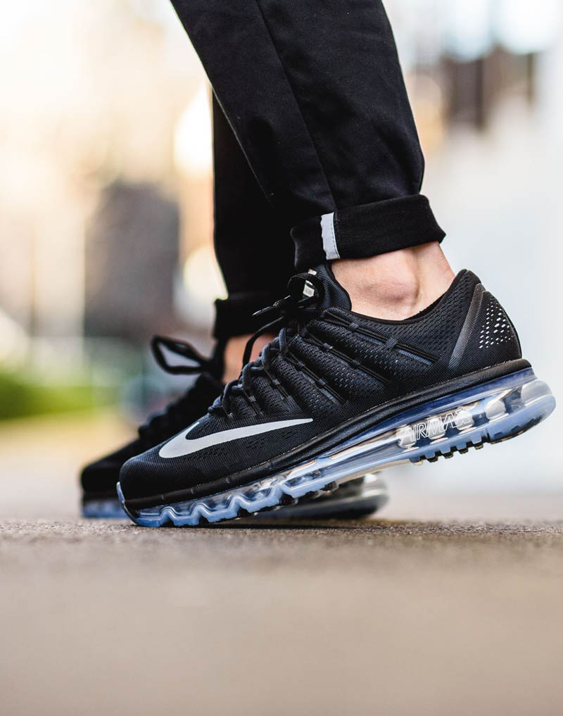 pick up e44d6 e2411 NIKE Air Max 2016 Black