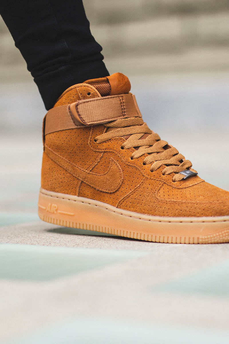 Nike Air Force 1 High Suede Brown