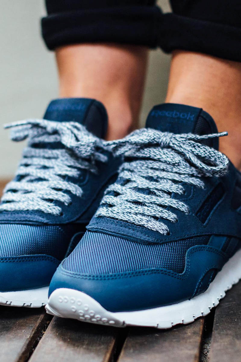 REEBOK Classic Nylon in Alpine Navy #ladies #womens #snekers