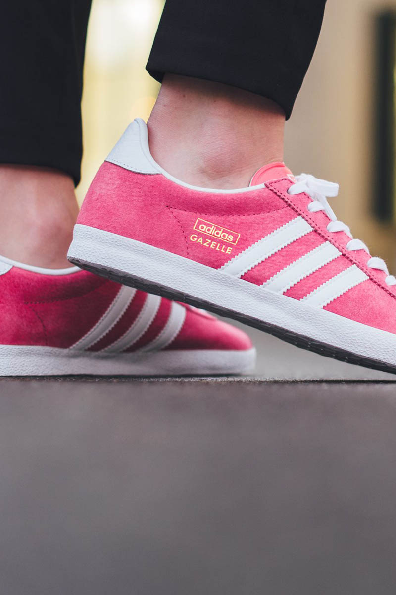 Lush Pink Gazelle  sneakers  adidasoriginals c0ad6e306