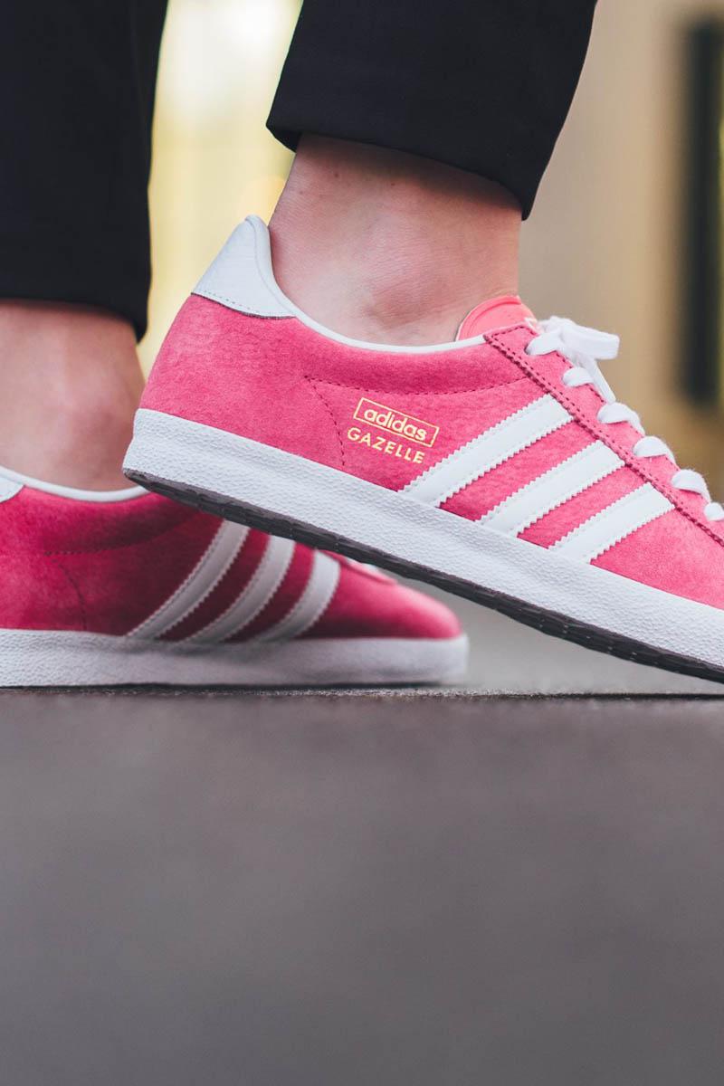 Lush Pink Gazelle #sneakers #adidasoriginals