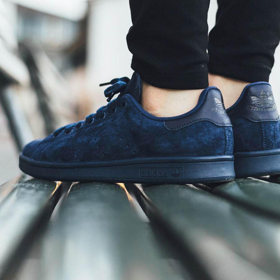 adidas stan smith blue suede Sale  c3d13c880