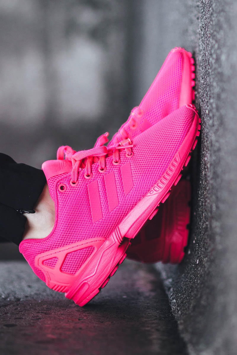 cheap for discount 89833 af663 ADIDAS ZX Flux Pink | SOLETOPIA