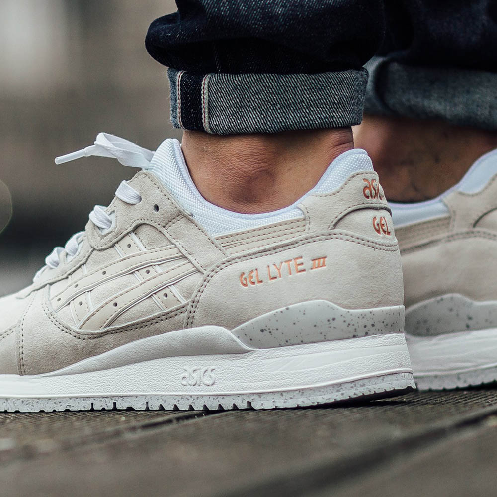 asics gel iii rose gold