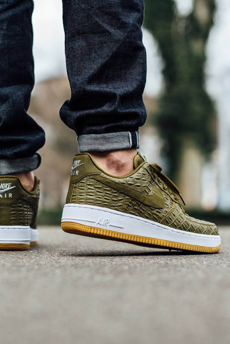 huge discount 9db58 950e5  nike  af1  airforce1  crocodile  kicks