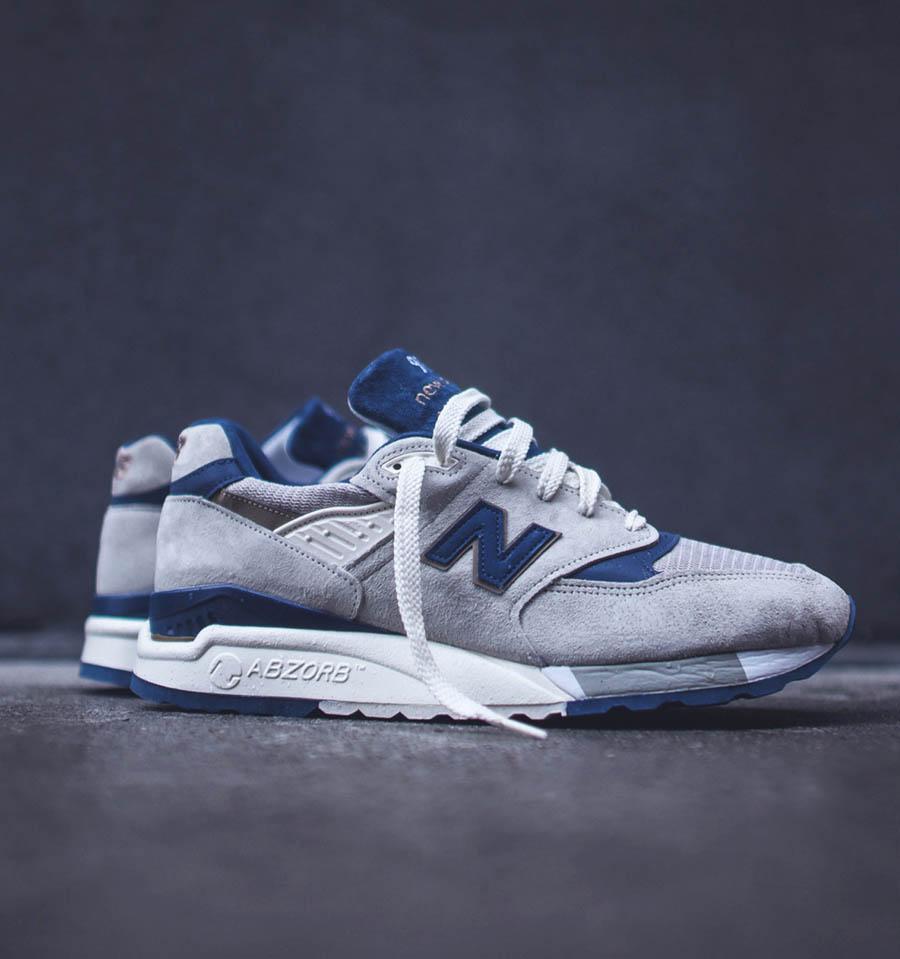 NB M998EBS #newbalance #suede #sneakers