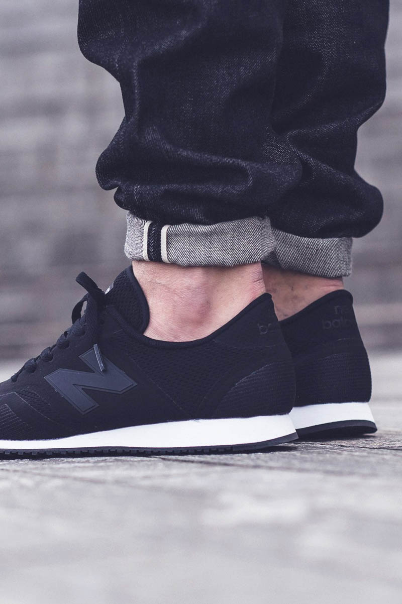 New Balance 420 Black Soletopia