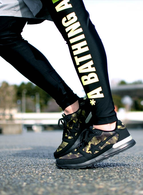 BAPE Running Collection #sneakers