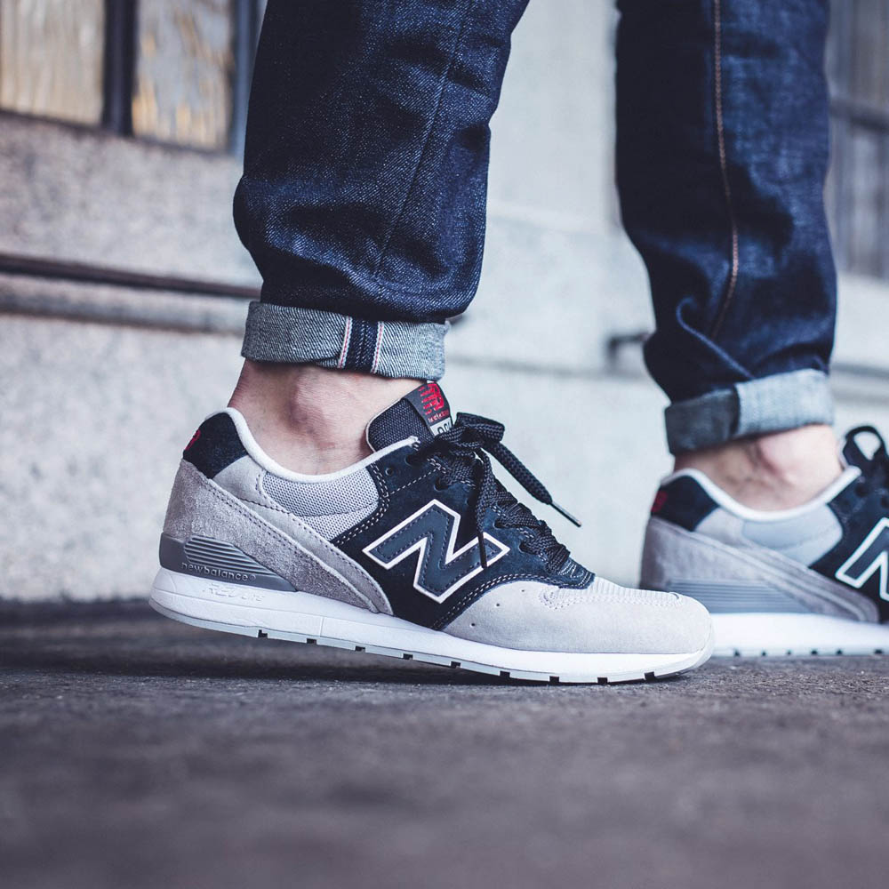Gray New Balance Running Shoes