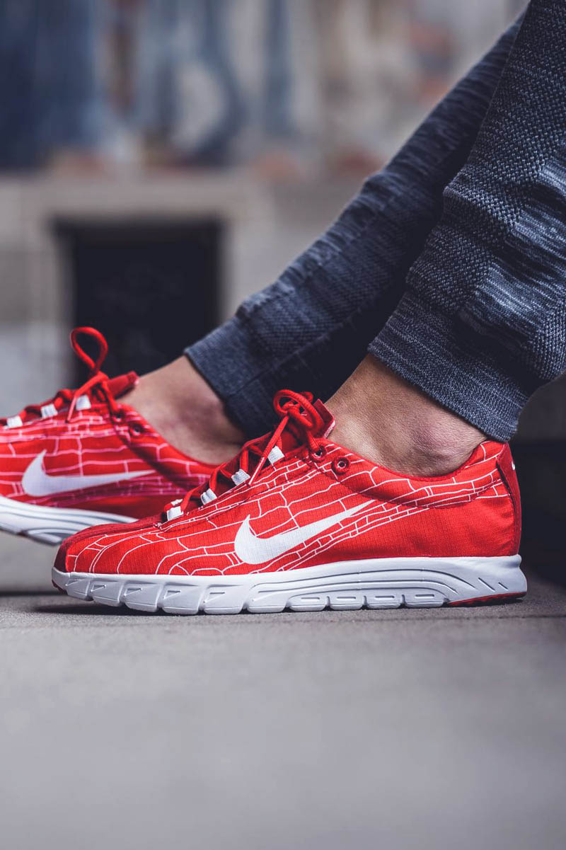 the best attitude f58df 7800f NIKE Mayfly ur #sneakers. The University Red ...