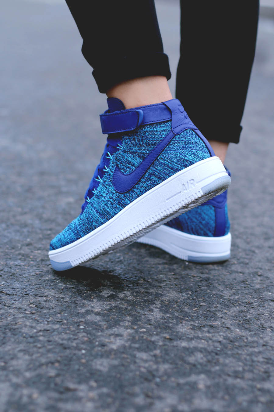 nike w af1 ultra flyknit blue lagoon soletopia. Black Bedroom Furniture Sets. Home Design Ideas