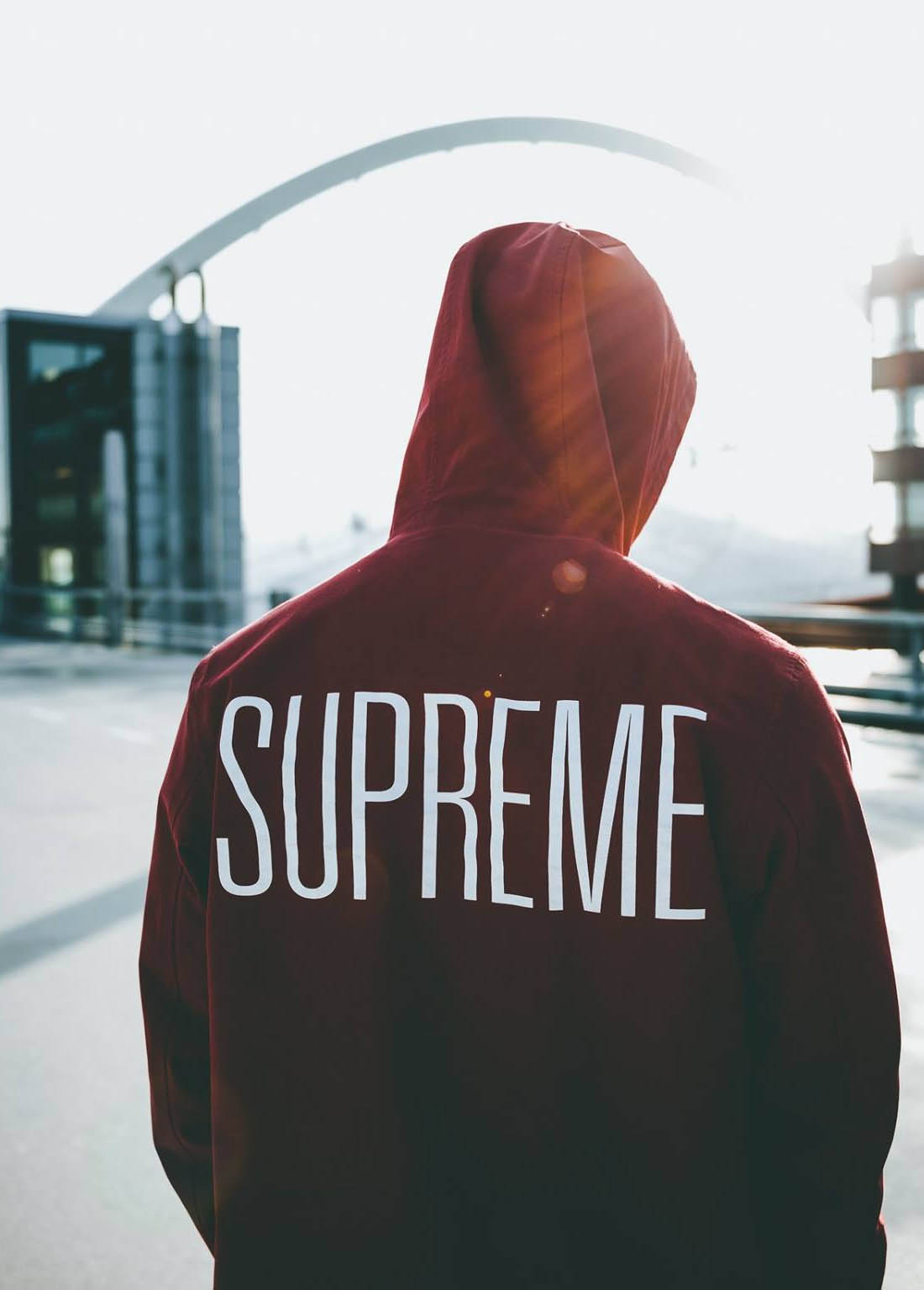 SUPREME Hooded Military Jacket | SOLETOPIA