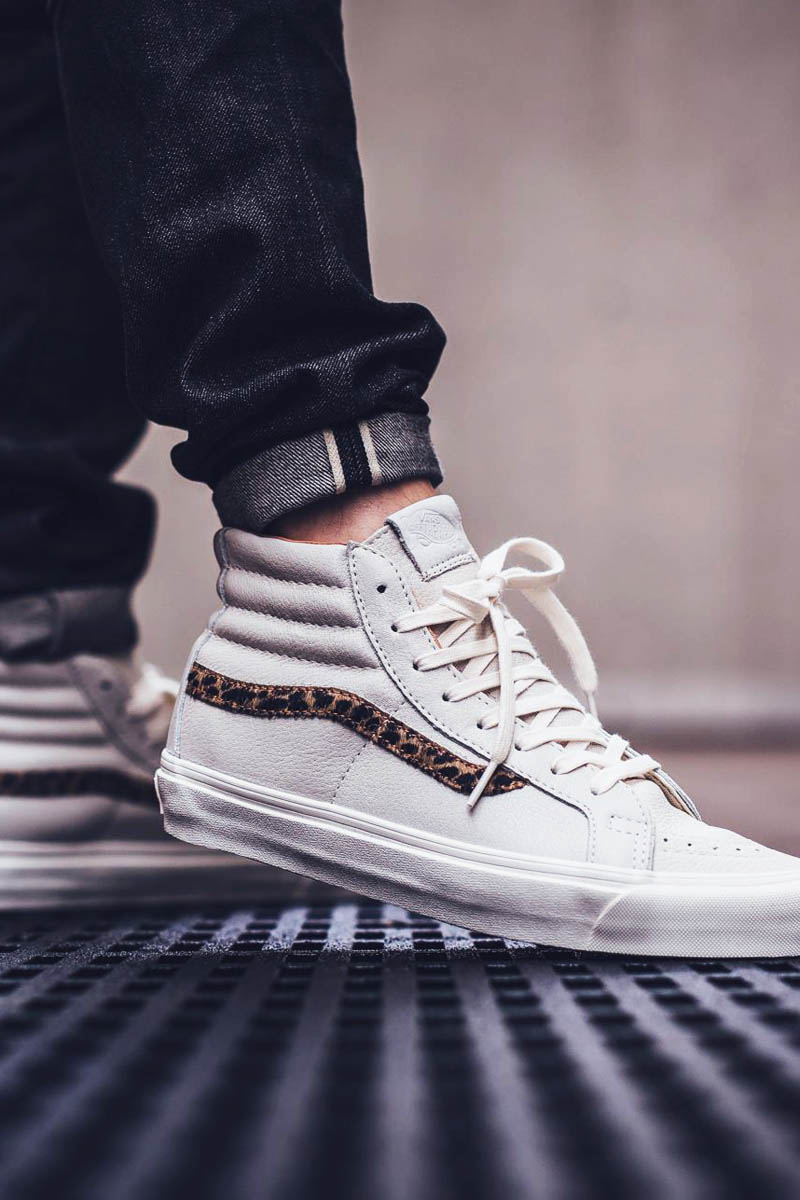 The Sk8-hi gets Leopard Pony-hair detailing