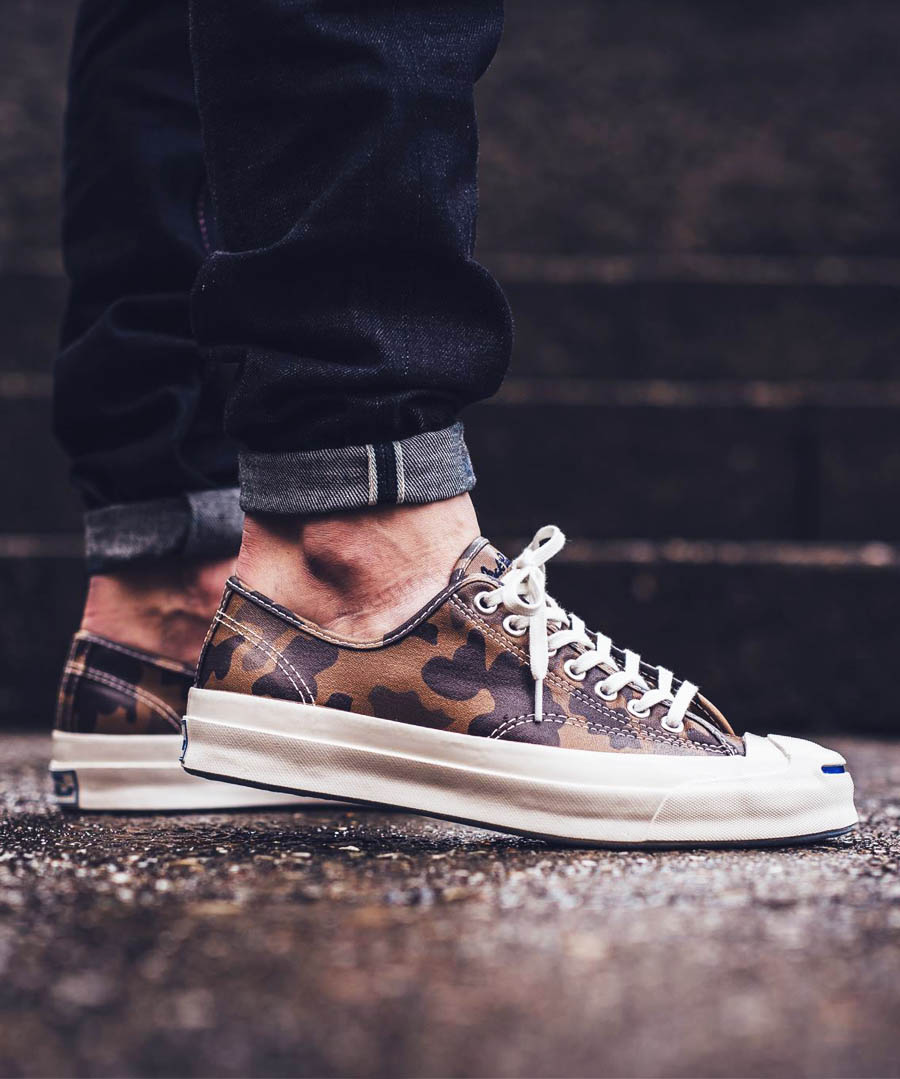 CONVERSE Jack Purcell OX Camo Sand Dune