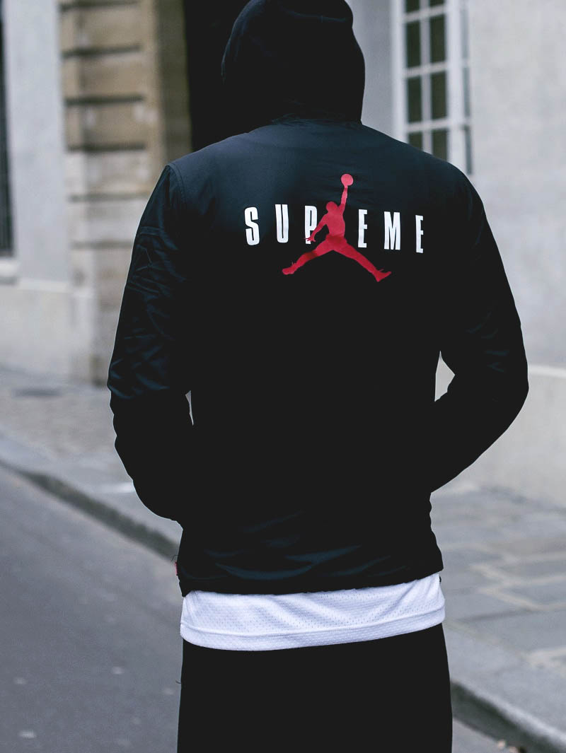 supreme jordan hoodie soletopia. Black Bedroom Furniture Sets. Home Design Ideas