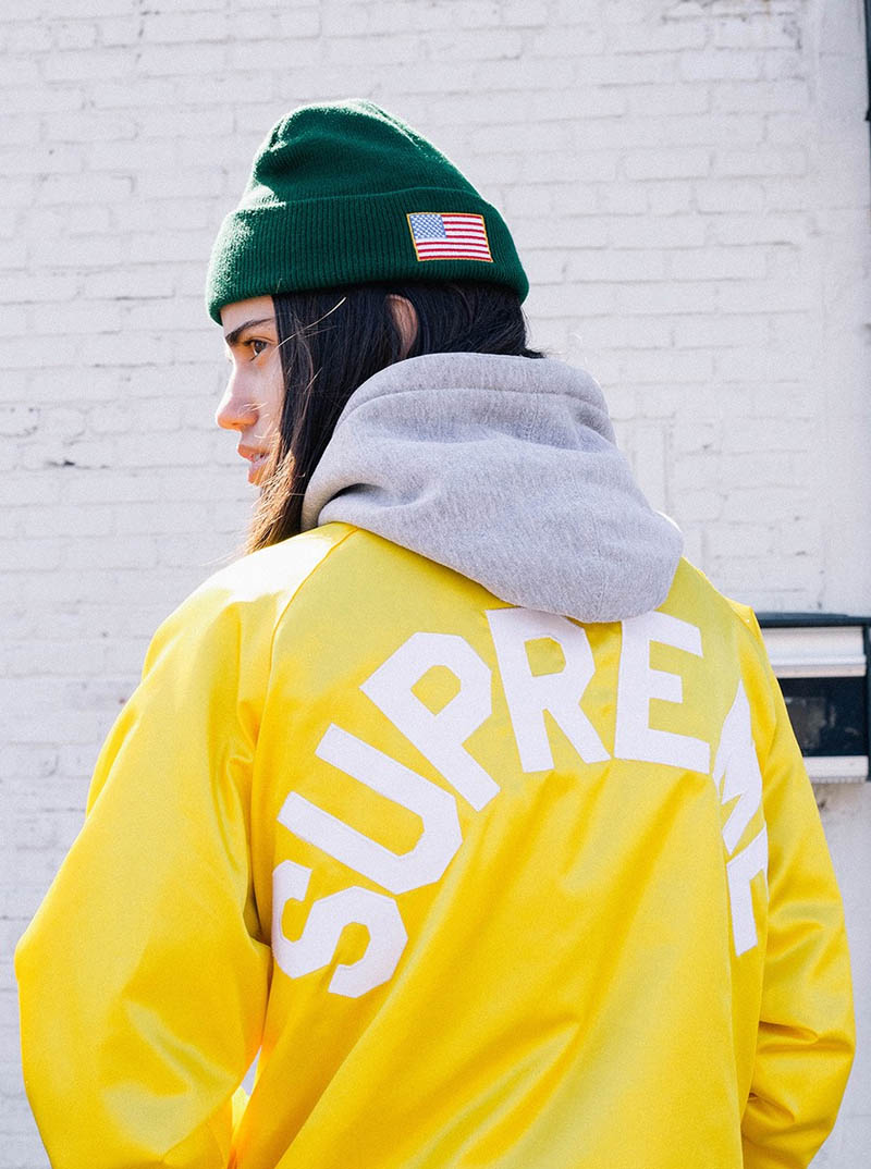Yellow jacket. #supreme