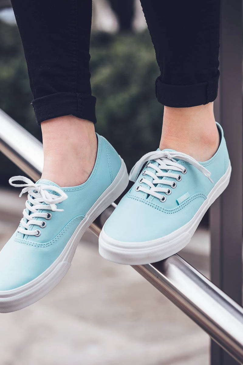 VANS Authentic Brush Twill Blue Light