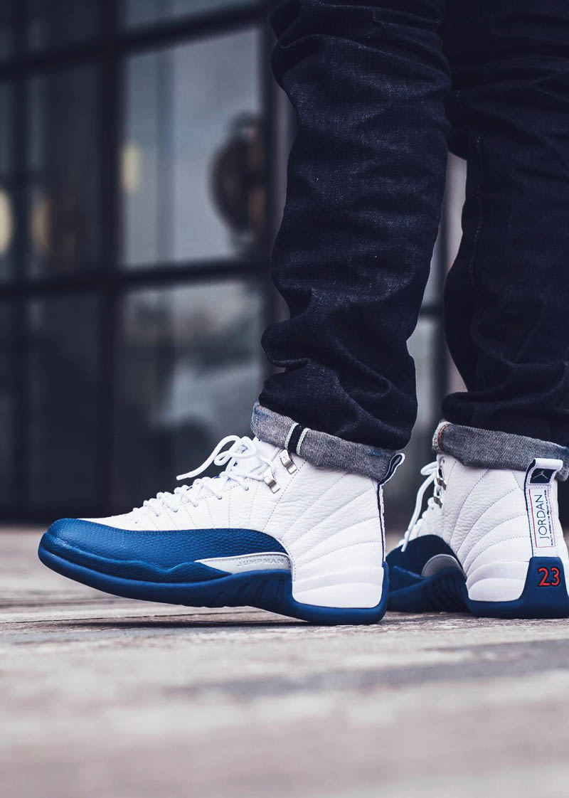 French Blue Jordan 12s Soletopia