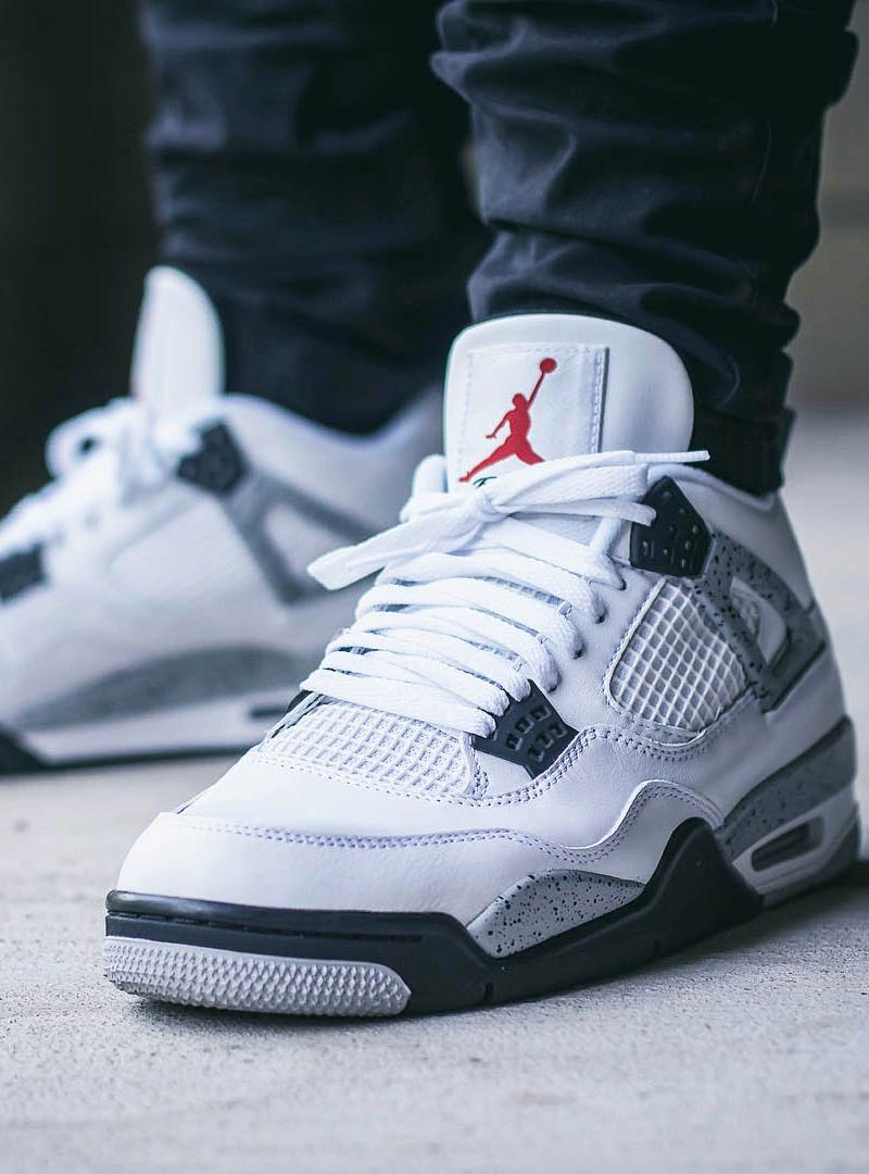 air jordan 4 retro cement soletopia. Black Bedroom Furniture Sets. Home Design Ideas