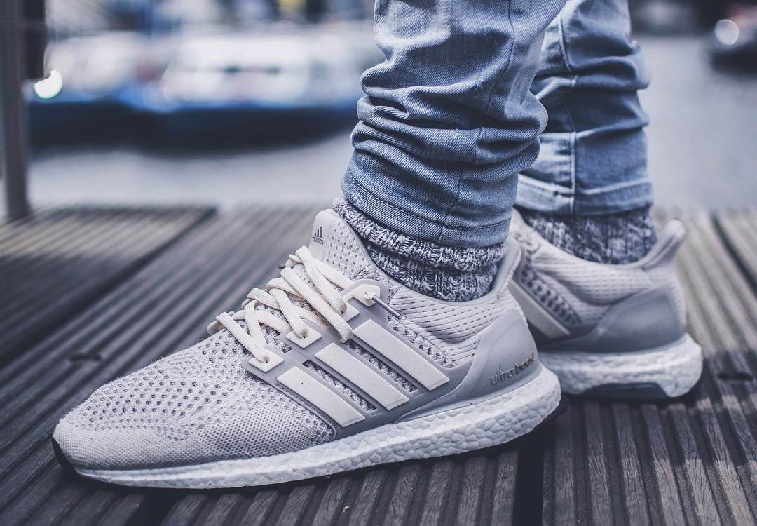 ADIDAS ORIGINALS UltraBoost in a 'Tan & Cream'