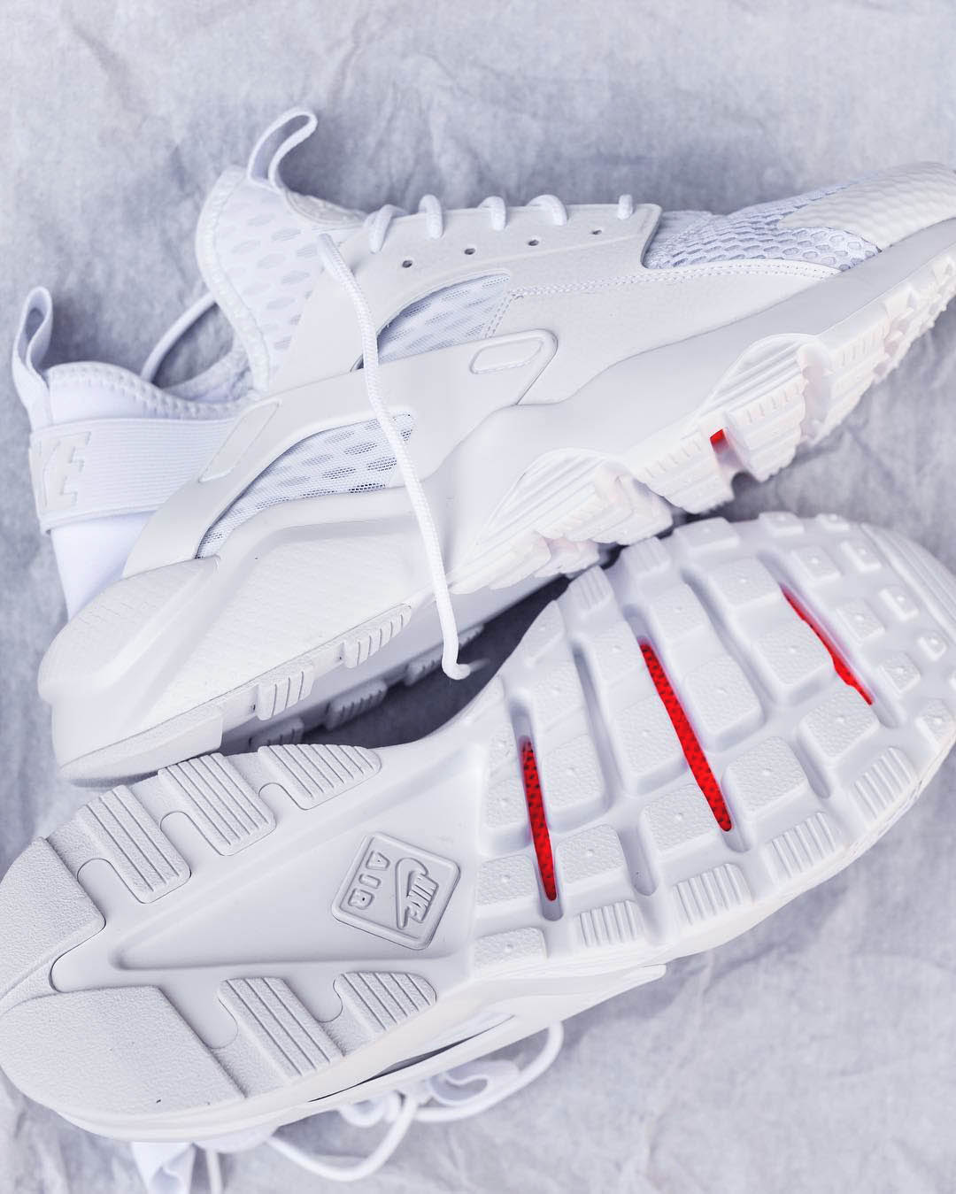 Air Huarache Ultra BR Platinum White