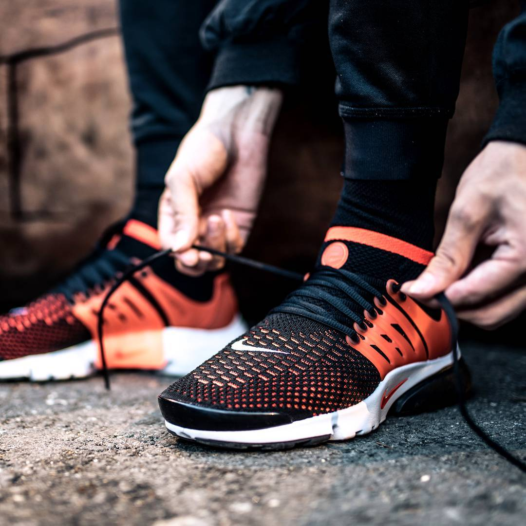 best service factory outlet so cheap Buy nike air presto orange black > up to 34% Discounts