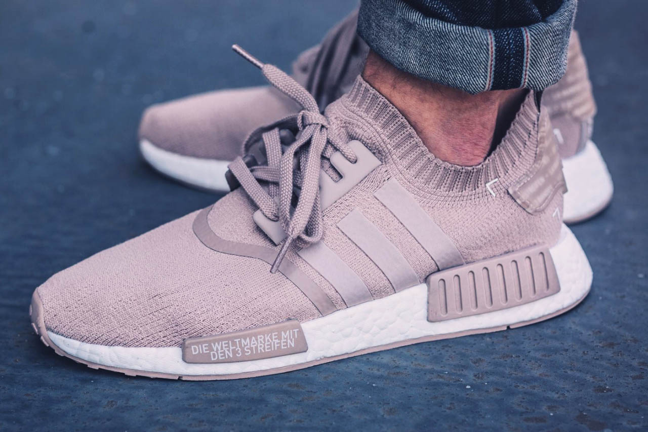 French Beige NMD Primeknit by ADIDAS ORIGINALS b537d3680