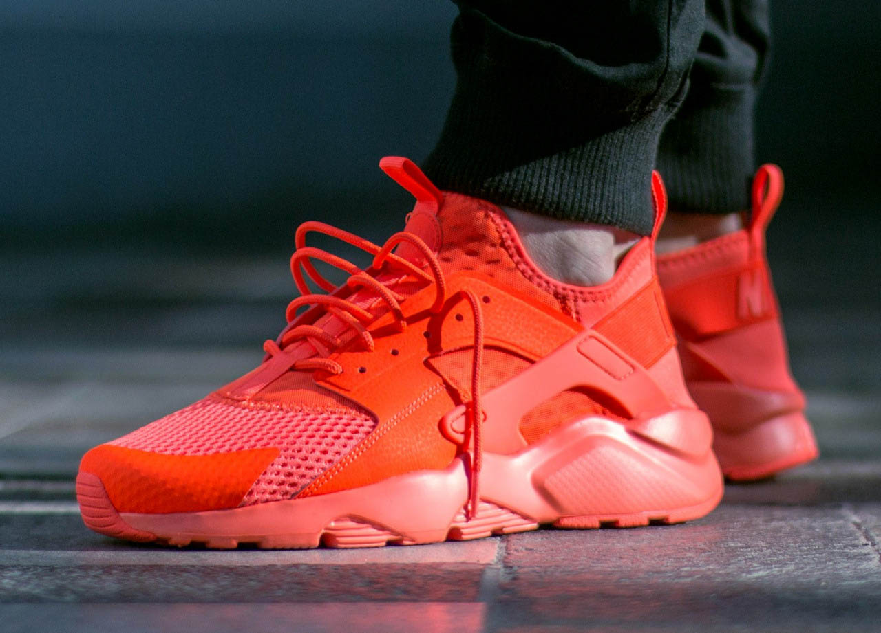 best sneakers 897a1 7fcf4 ... denmark nike huarache ultra orange gold total crimson huarache run ultra  breathe 024ba dc3f4