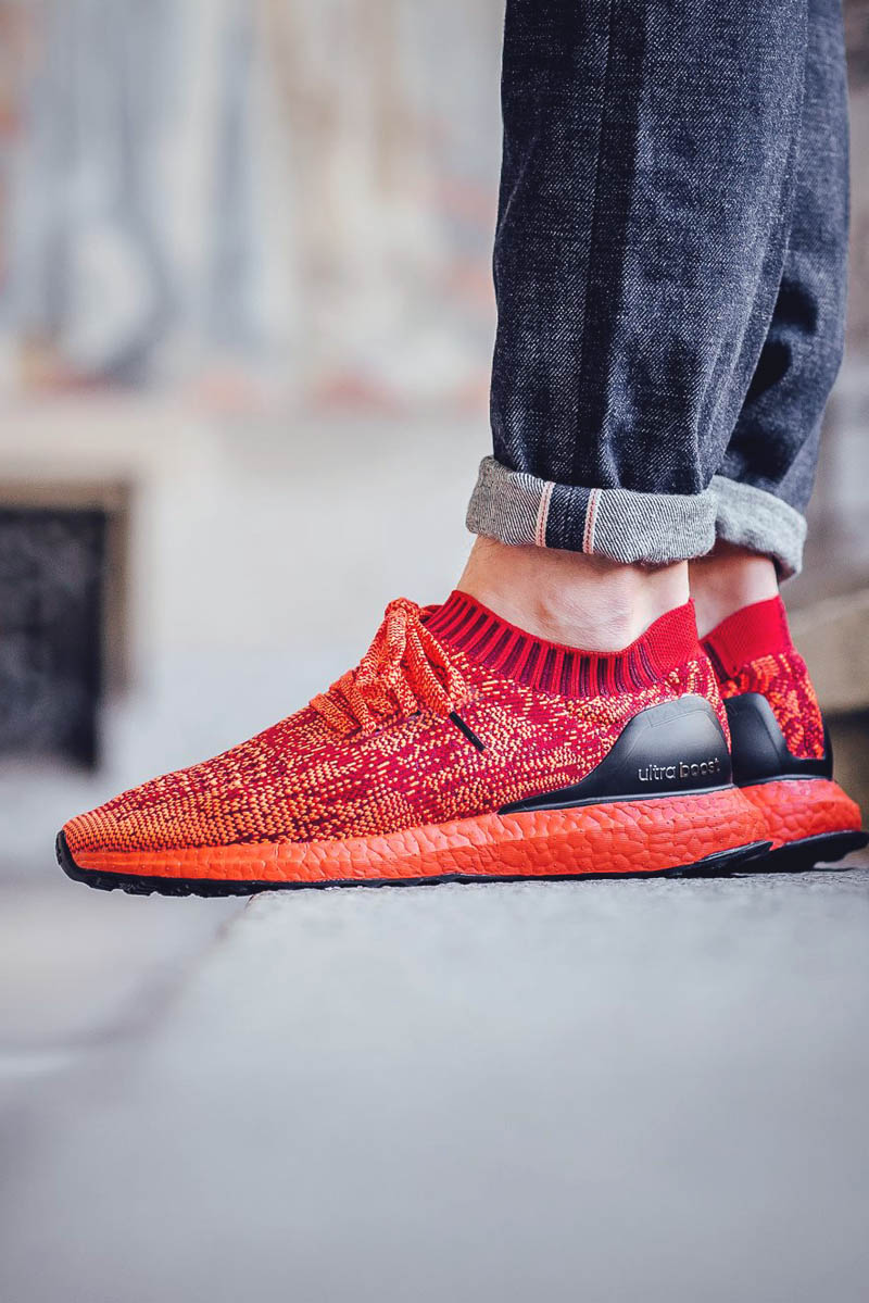 Adidas Ultra Boost Uncaged Scarlet Red