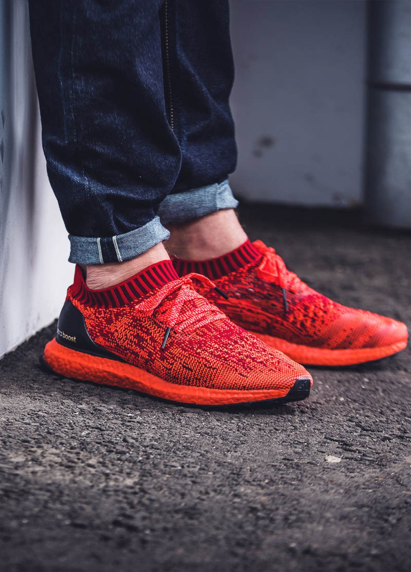 At last, the Ultra Boost Uncaged PK 'Red' has arrived!