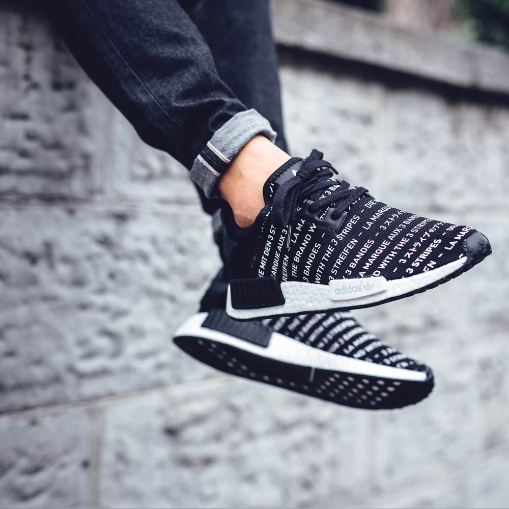 NMD R1 With Words Uppers