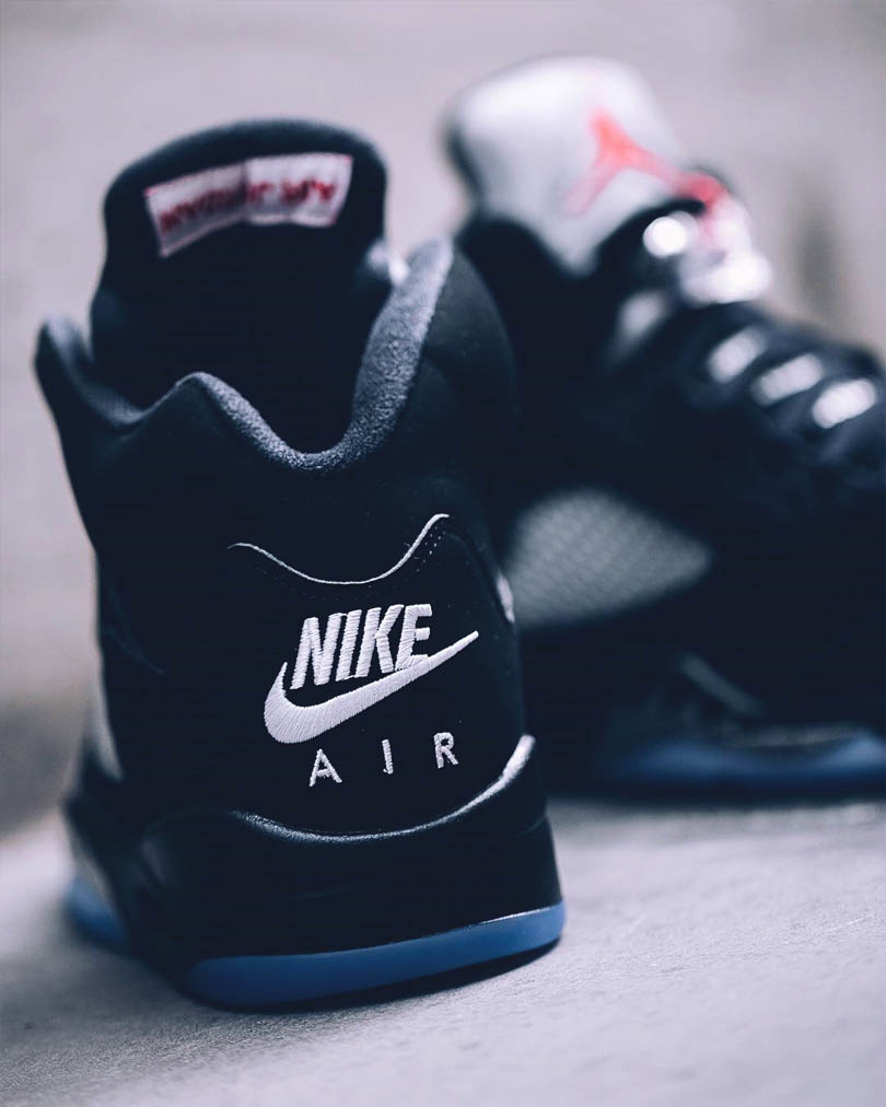 Original Air Jordan 5 'Metallic Silver' returns for limited time only