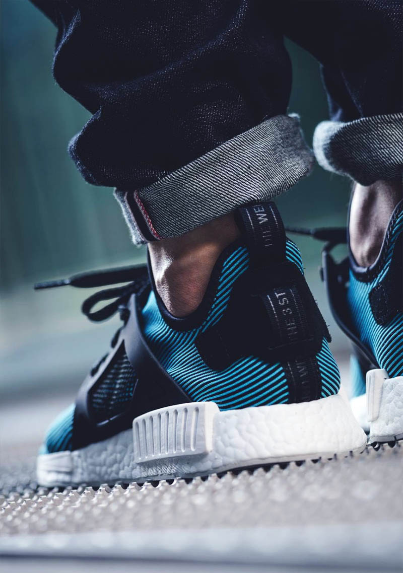 Adidas NMD XR1 in 'Bright Cyan'