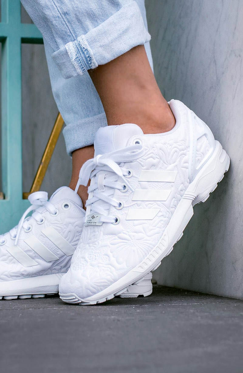 adidas ZX Flux 'Floral Embossed'...wow...just wow