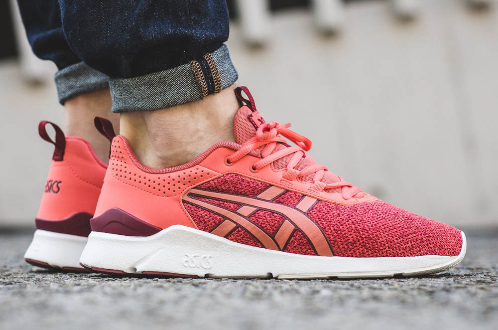 Asics Gel Lyte Runner in 'Hot Coral' #asics